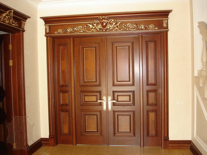 Межкомнатные двери DOMENICA_01 из массива - Самарская
