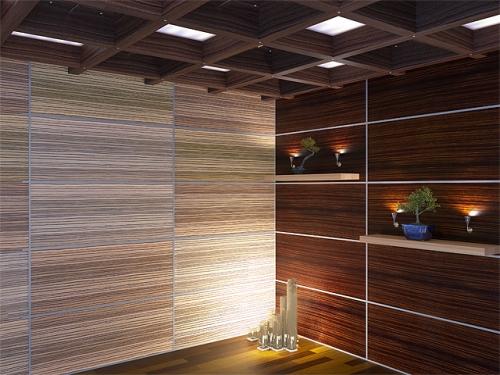 Дизайн потолков из стеновых панелей